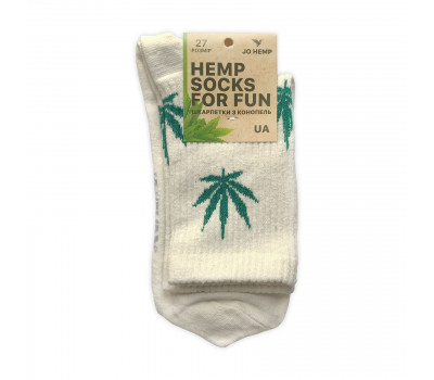 Hemp Socks носки из конопли с логотипом