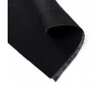 Конопляная ткань черного цвета