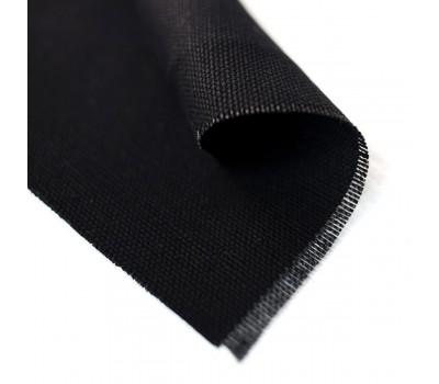 Ткань конопляная черного цвета