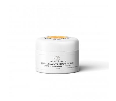 Скраб для тела Антицеллюлитный Anti Cellulite body scrub Orange and Cinnamon.
